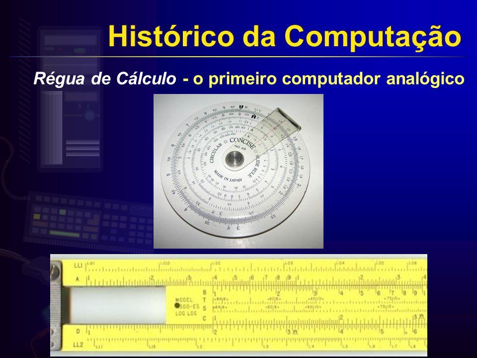 Régua de Cálculo - o primeiro computador analógico