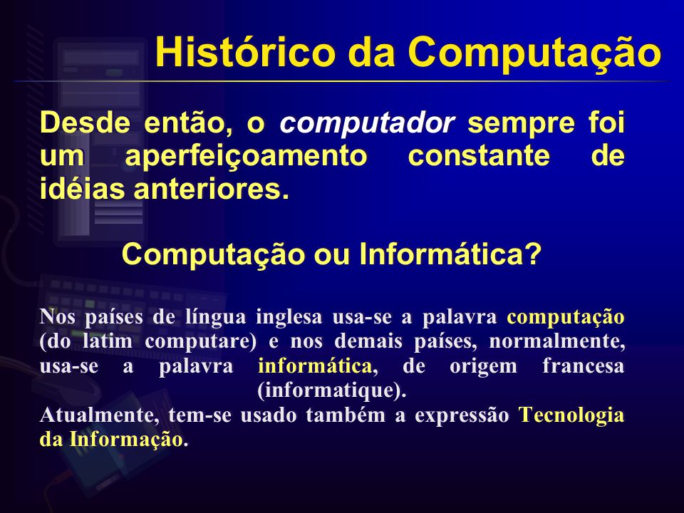 Computação ou Informática