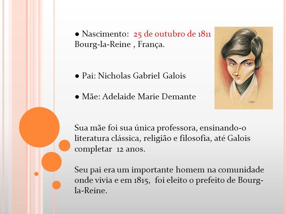 ● Nascimento: 25 de outubro de 1811 Bourg-la-Reine , França.