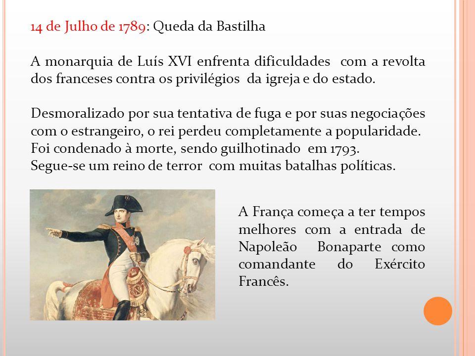 14 de Julho de 1789: Queda da Bastilha
