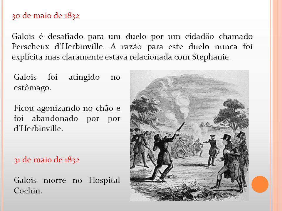 30 de maio de 1832