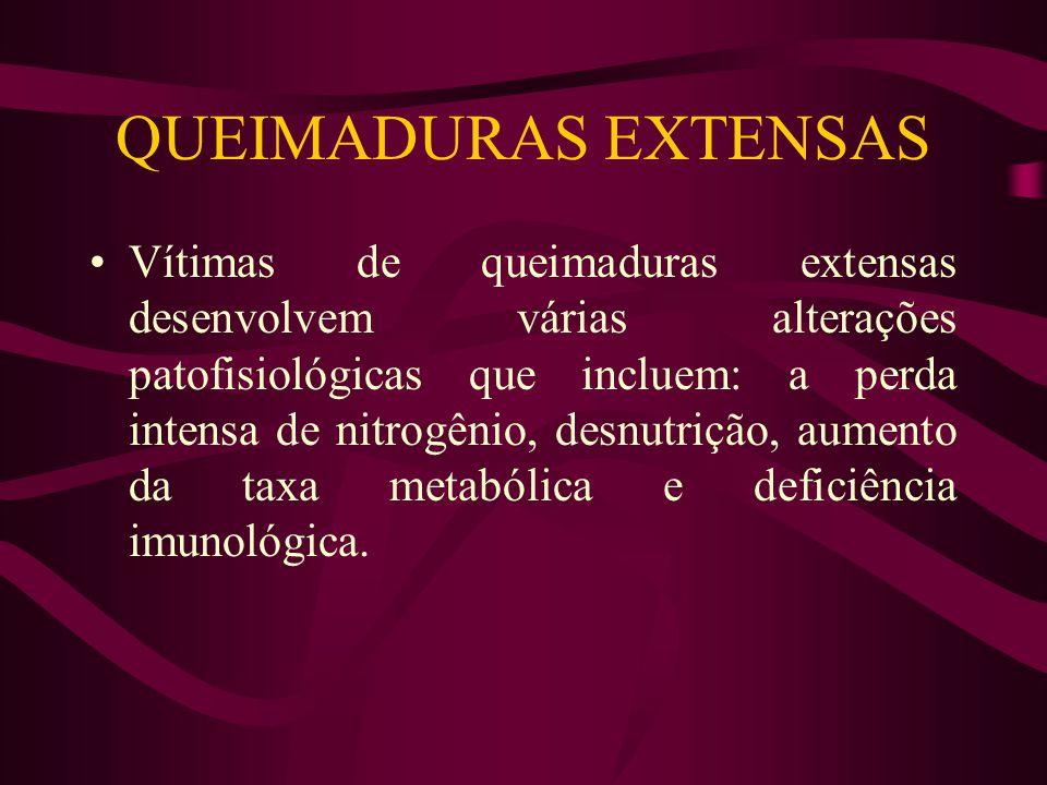 QUEIMADURAS EXTENSAS