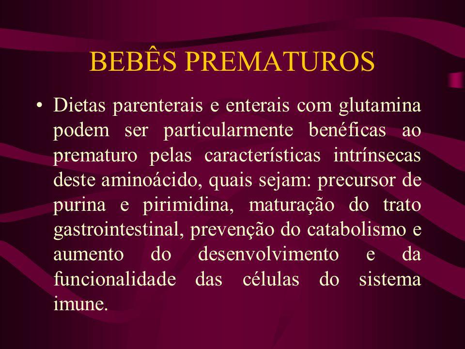 BEBÊS PREMATUROS
