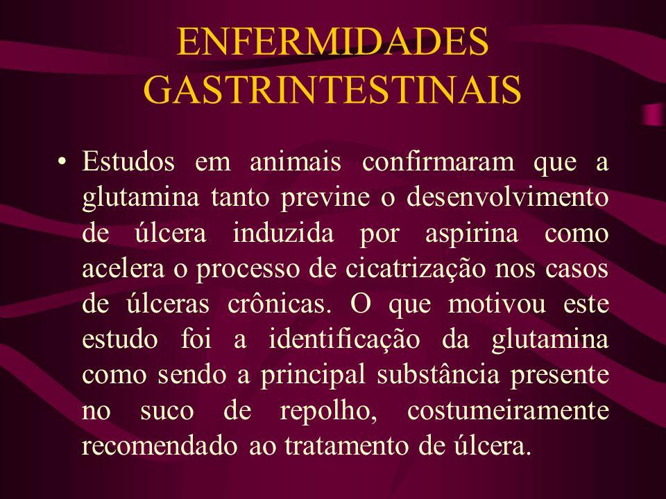 ENFERMIDADES GASTRINTESTINAIS