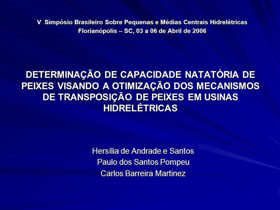 V Simpósio Brasileiro Sobre Pequenas e Médias Centrais Hidrelétricas