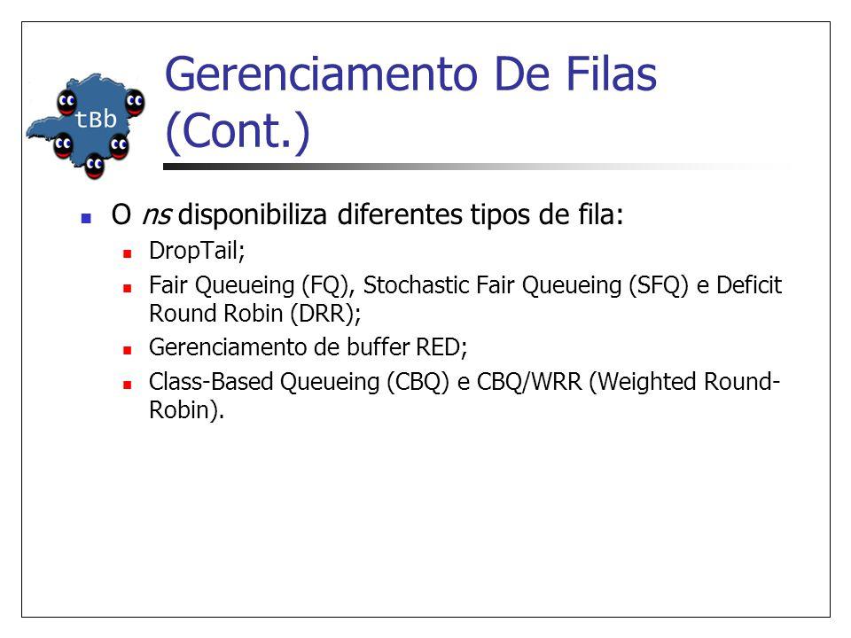 Gerenciamento De Filas (Cont.)
