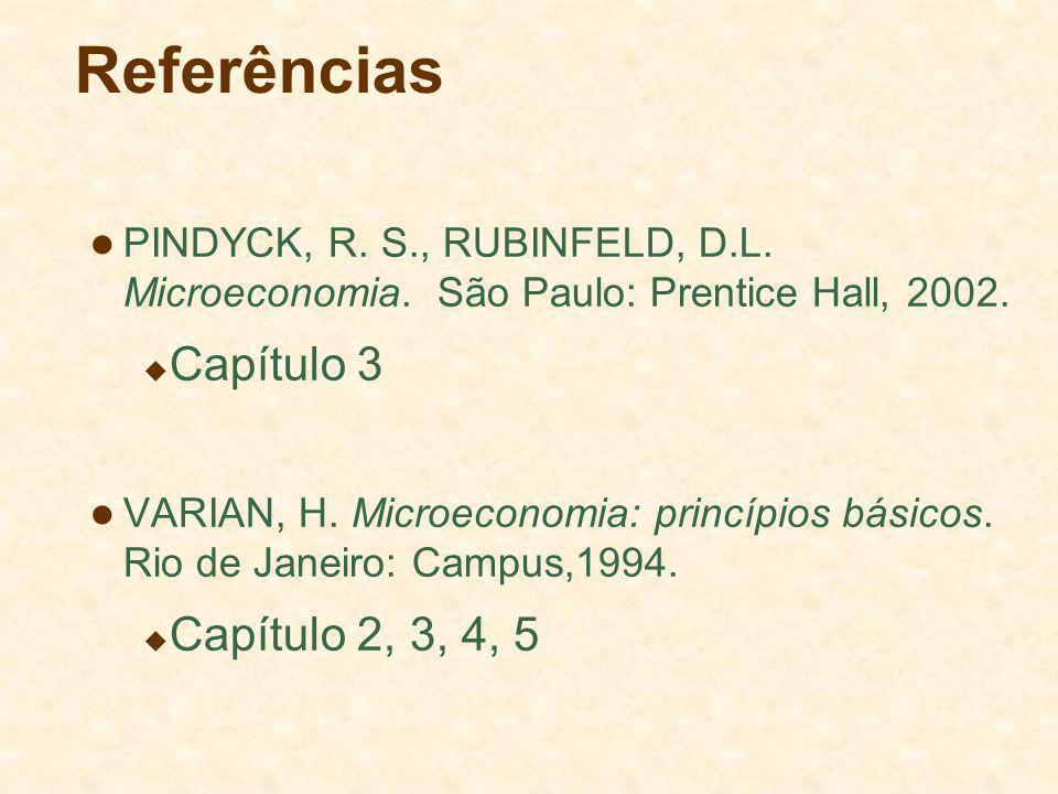 Referências Capítulo 3 Capítulo 2, 3, 4, 5