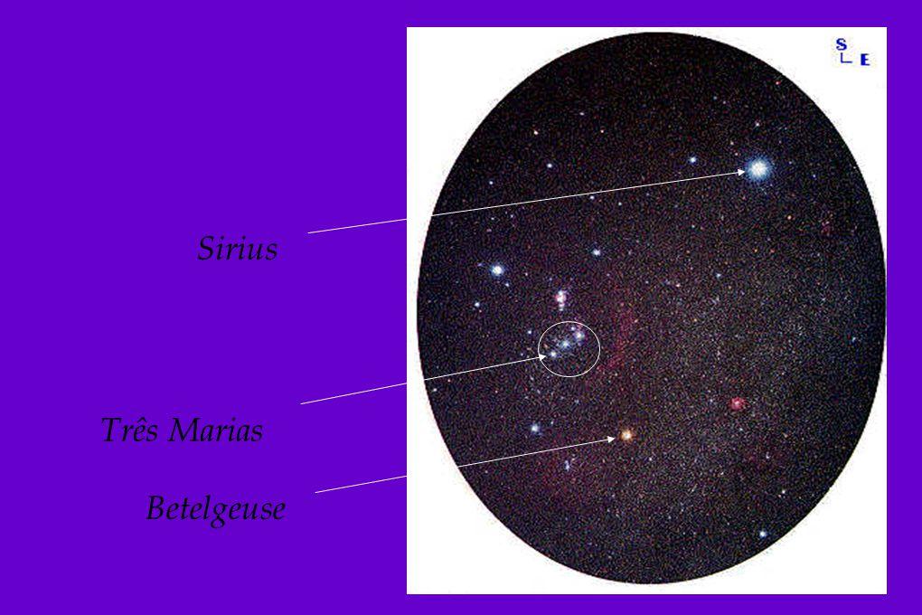 Sirius Três Marias Betelgeuse