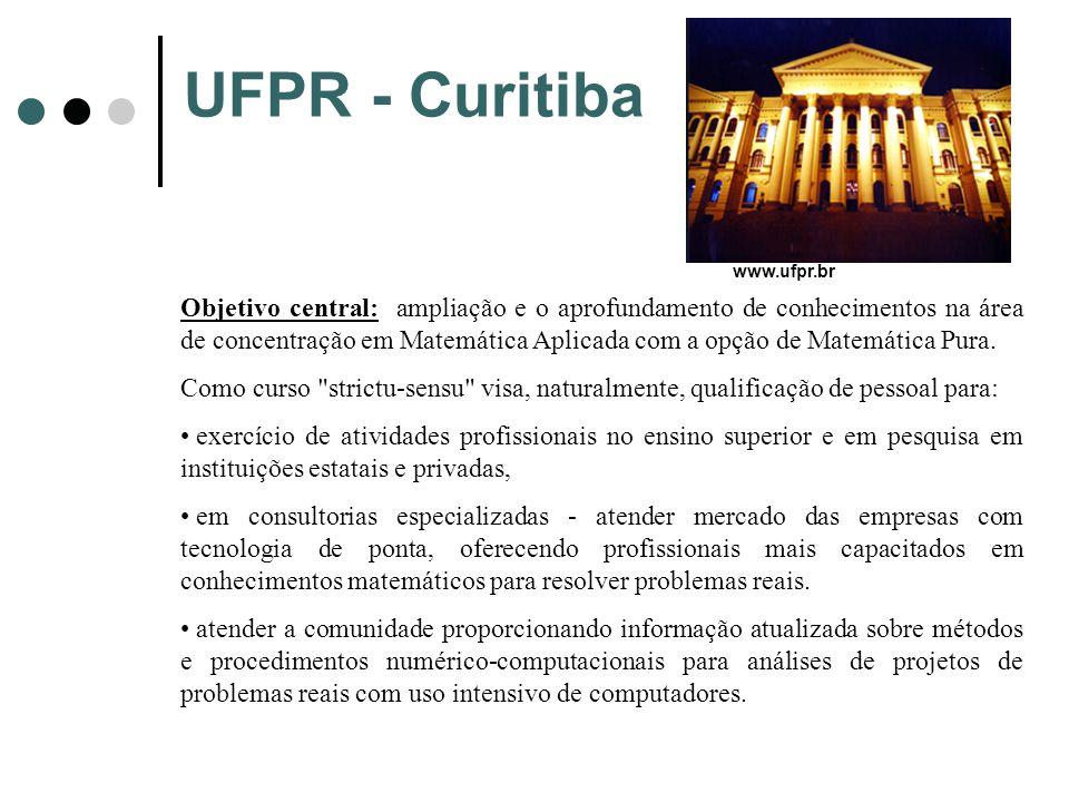 UFPR - Curitiba www.ufpr.br.