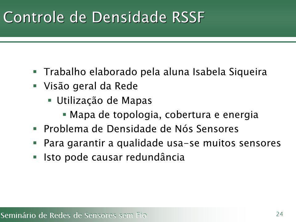 Controle de Densidade RSSF