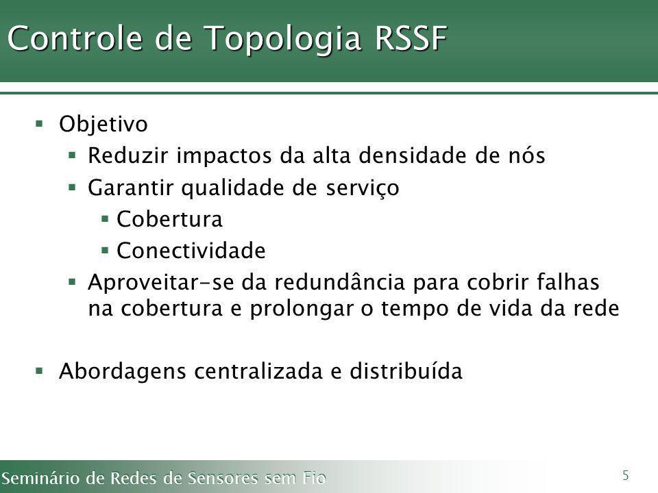 Controle de Topologia RSSF