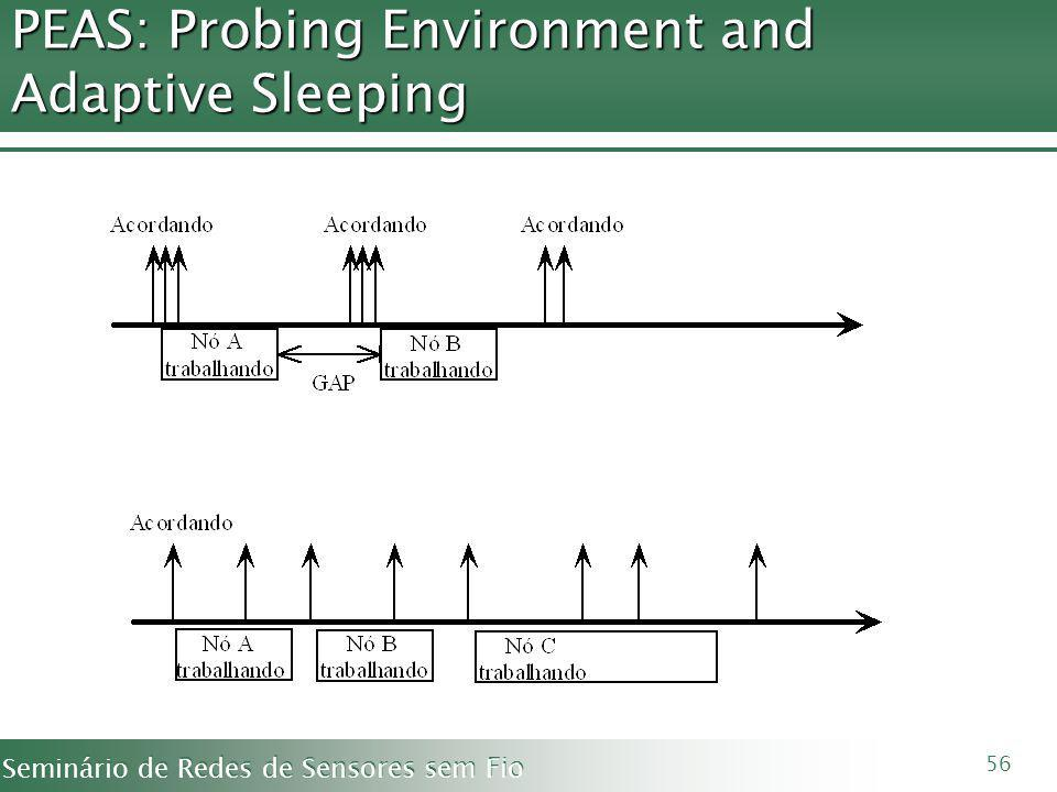 PEAS: Probing Environment and Adaptive Sleeping