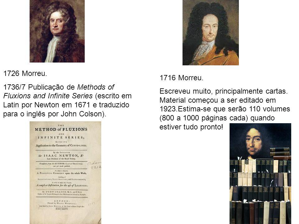 1716 Morreu.