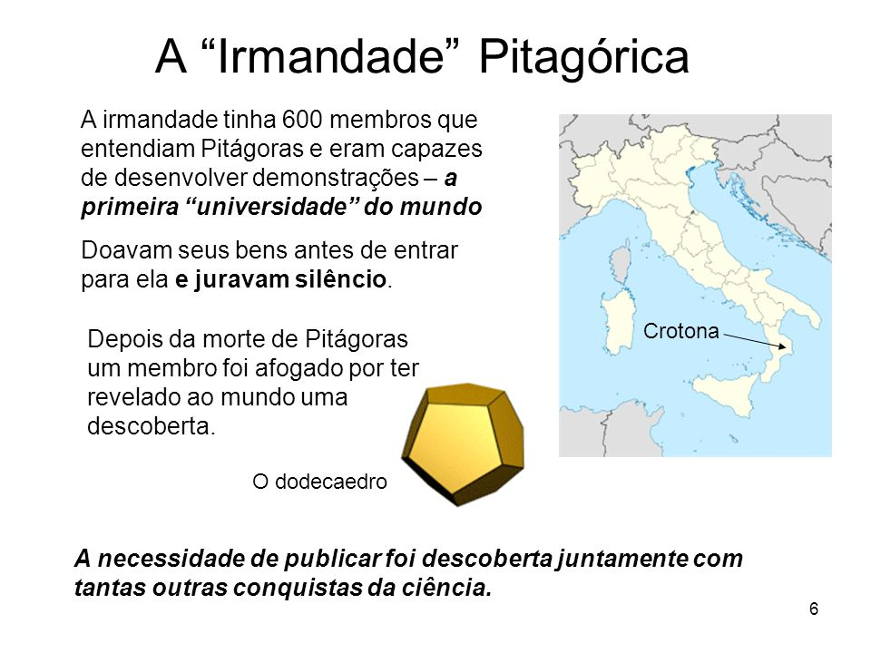 A Irmandade Pitagórica