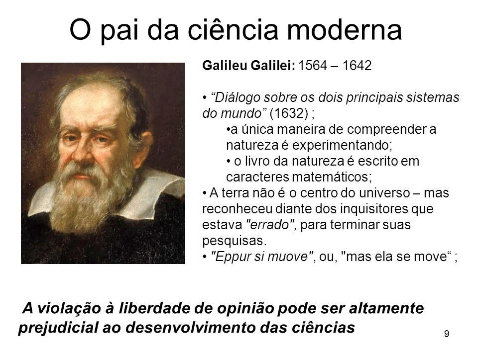 O pai da ciência moderna