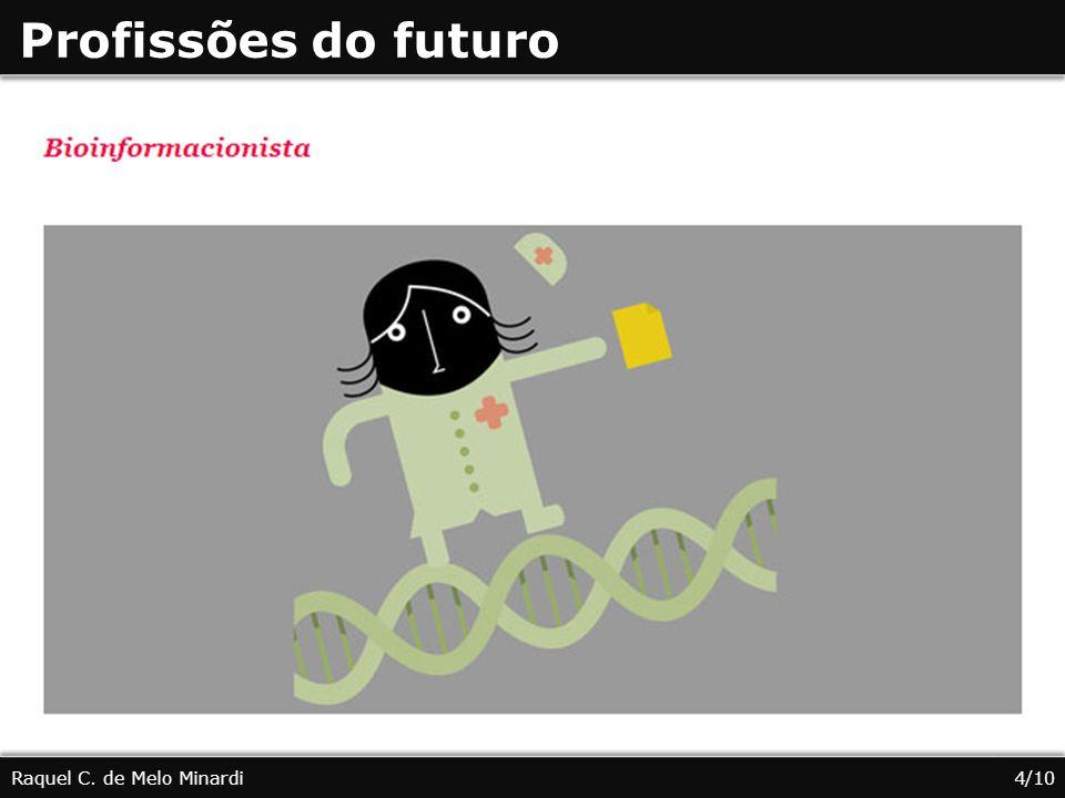 Profissões do futuro Raquel C. de Melo Minardi 4/10