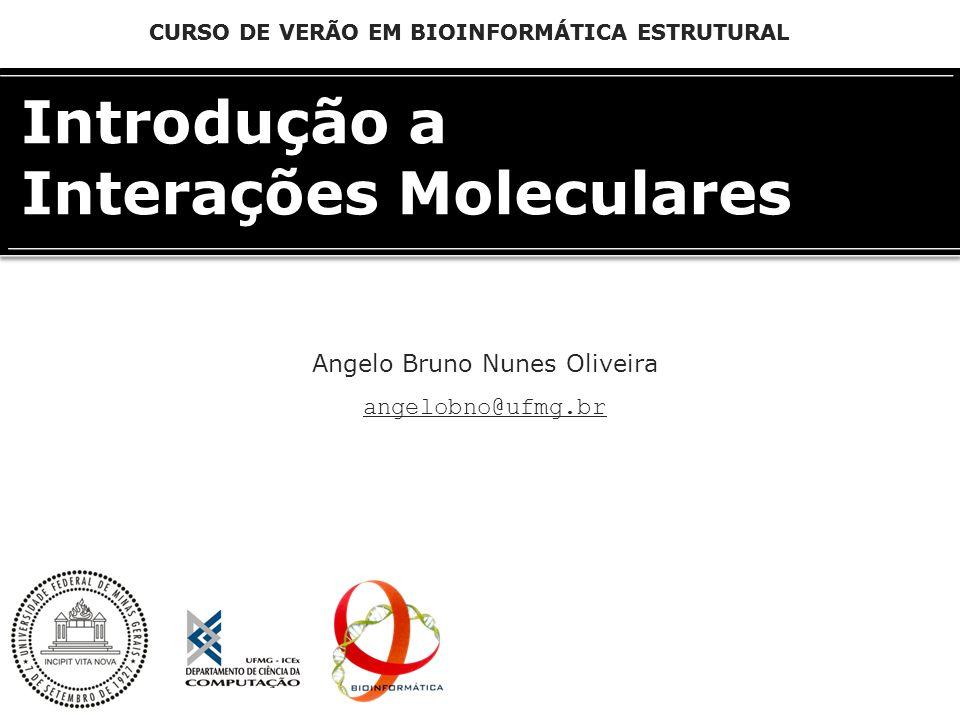 Introdução a Interações Moleculares