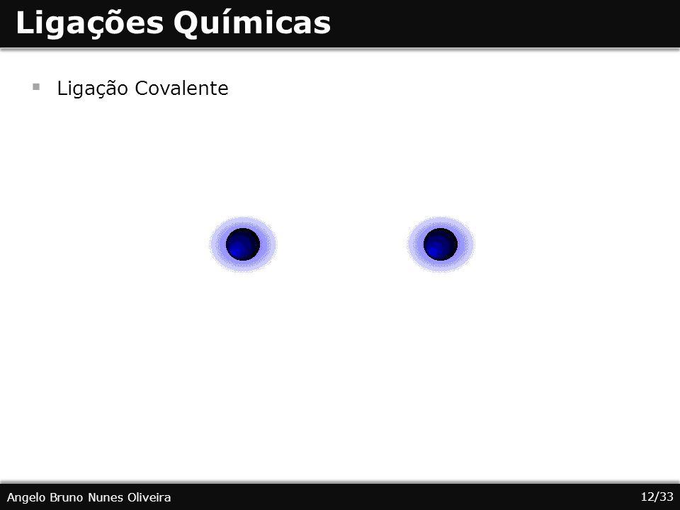 Ligações Químicas Ligação Covalente