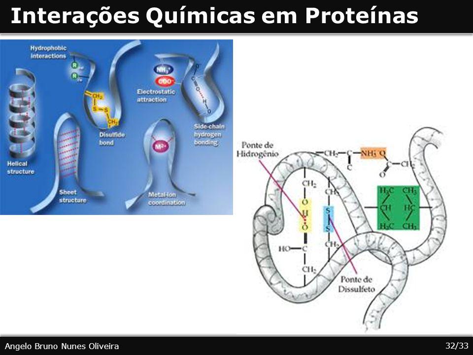 Interações Químicas em Proteínas