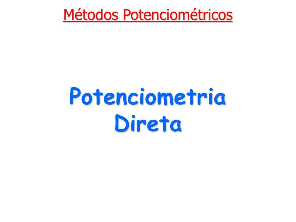 Potenciometria Direta