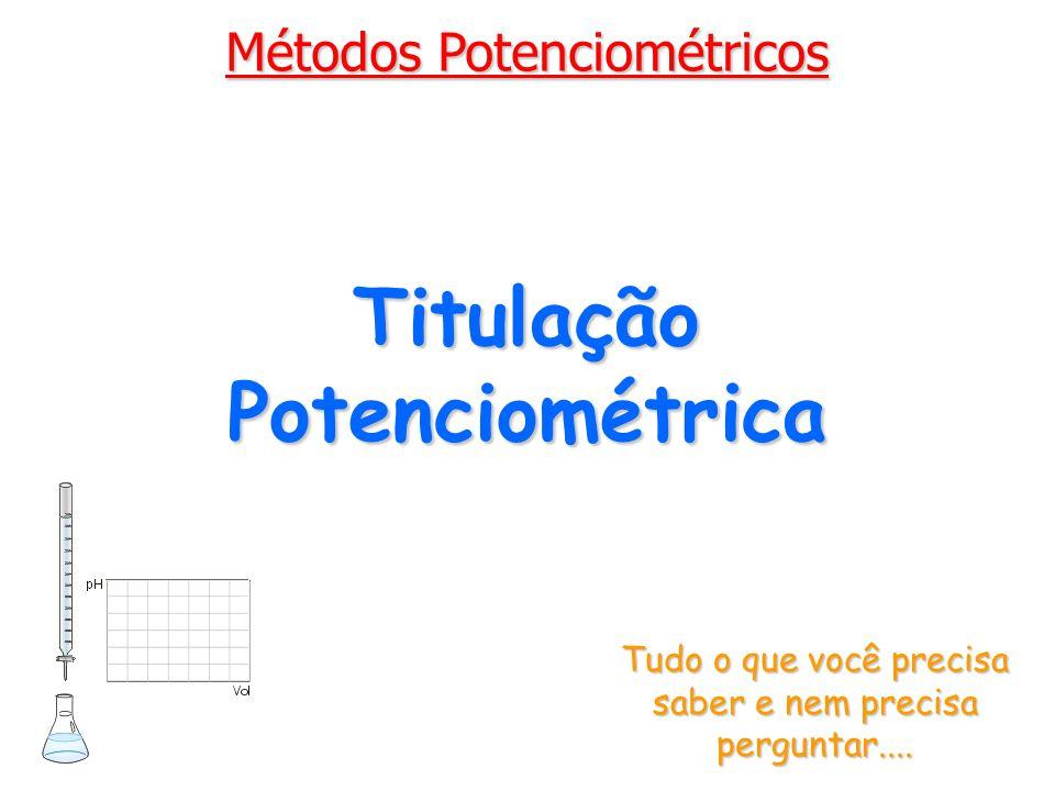 Titulação Potenciométrica