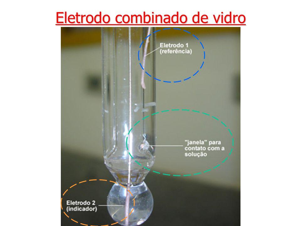 Eletrodo combinado de vidro