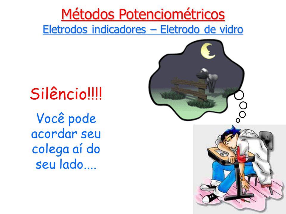 Silêncio!!!! Métodos Potenciométricos