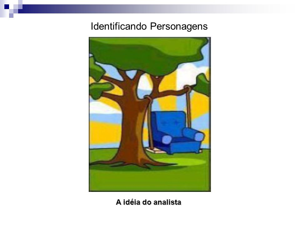 Identificando Personagens