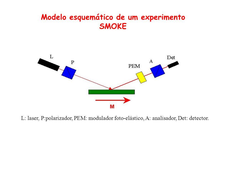 Modelo esquemático de um experimento