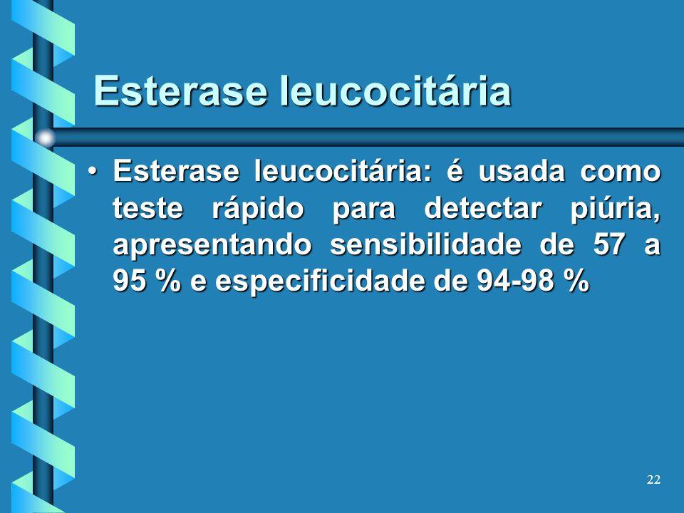Esterase leucocitária