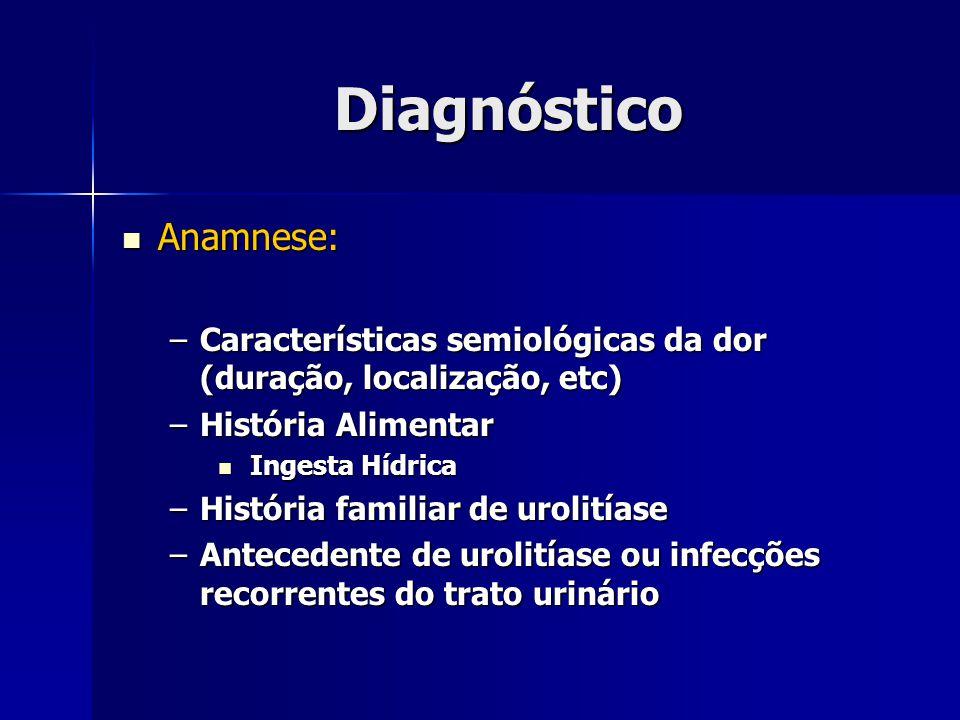 Diagnóstico Anamnese: