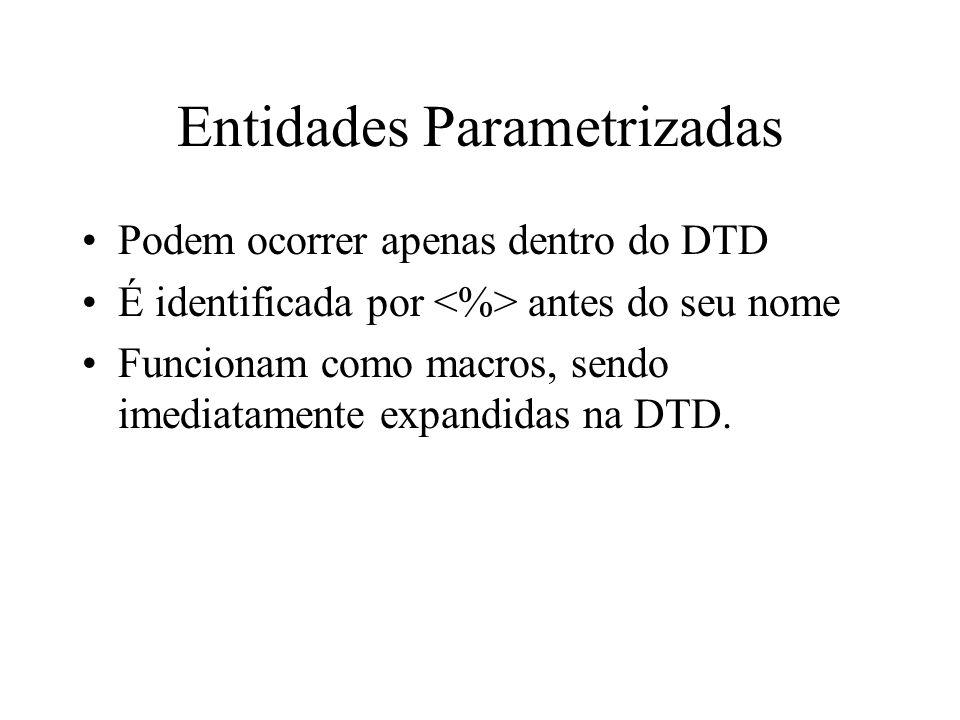 Entidades Parametrizadas