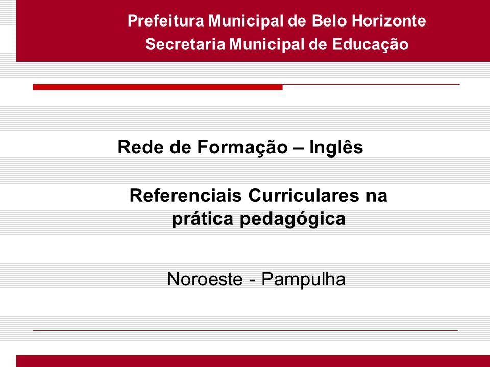 Referenciais Curriculares na prática pedagógica