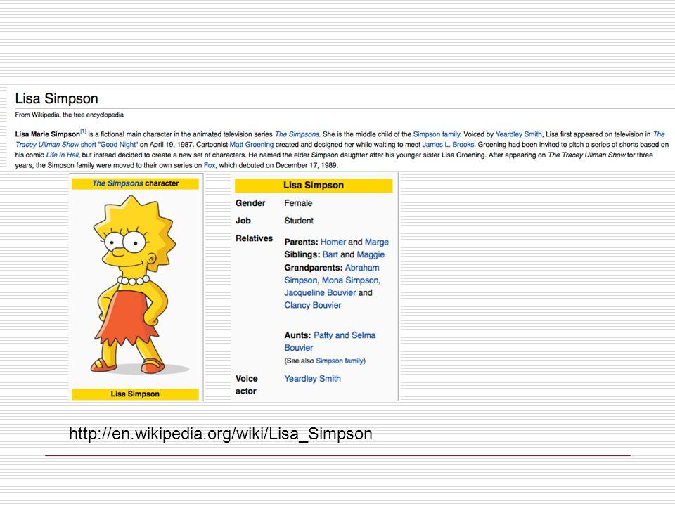 http://en.wikipedia.org/wiki/Lisa_Simpson