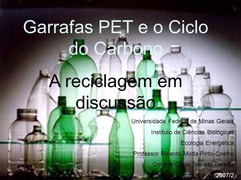 Garrafas PET e o Ciclo do Carbono A reciclagem em discussão