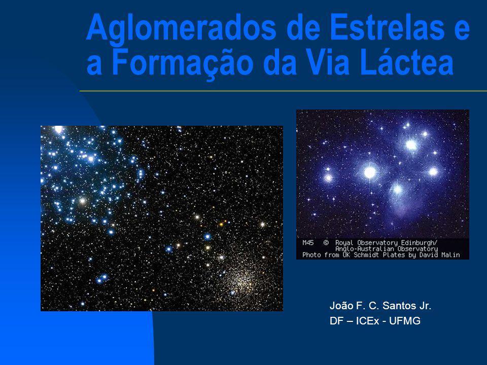 Aglomerados de Estrelas e a Formação da Via Láctea