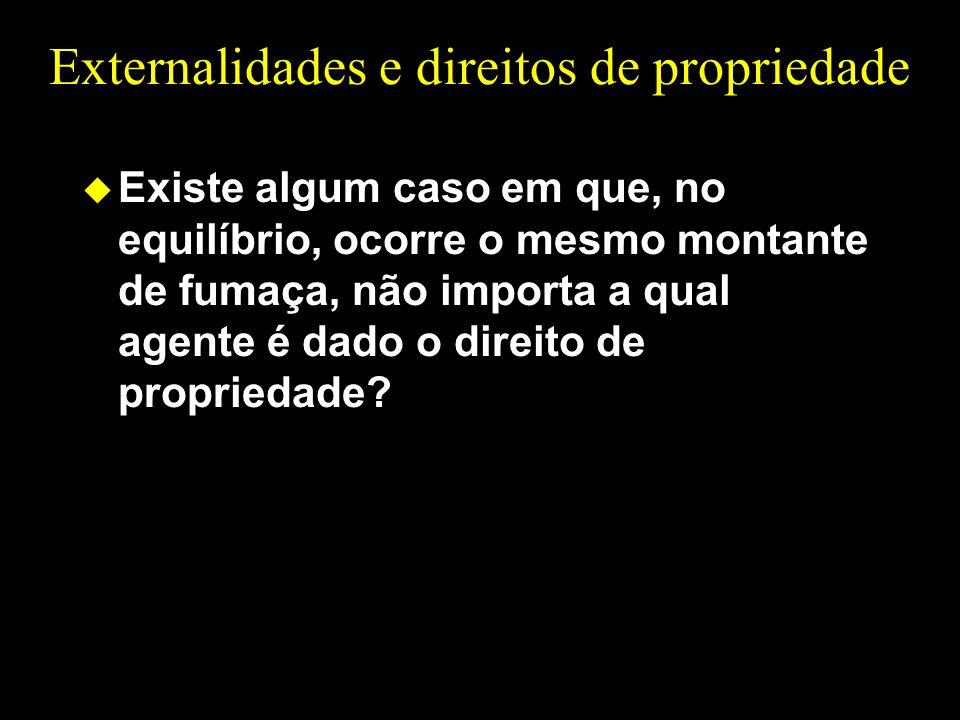Externalidades e direitos de propriedade