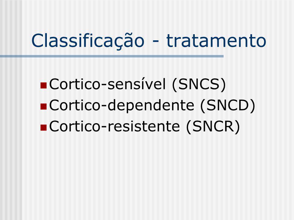 Classificação - tratamento
