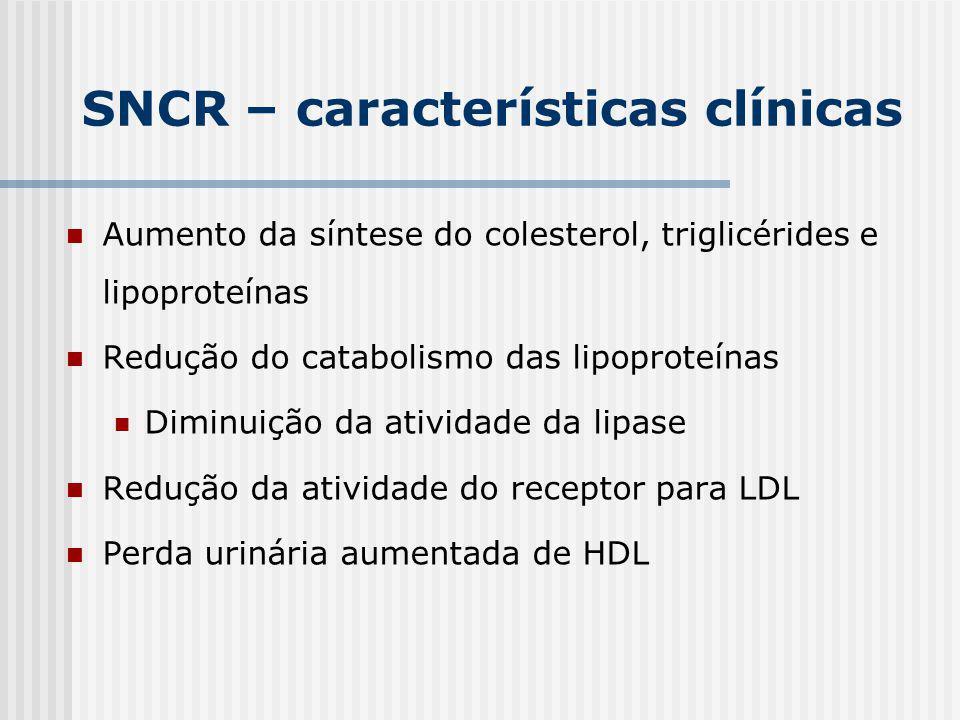 SNCR – características clínicas