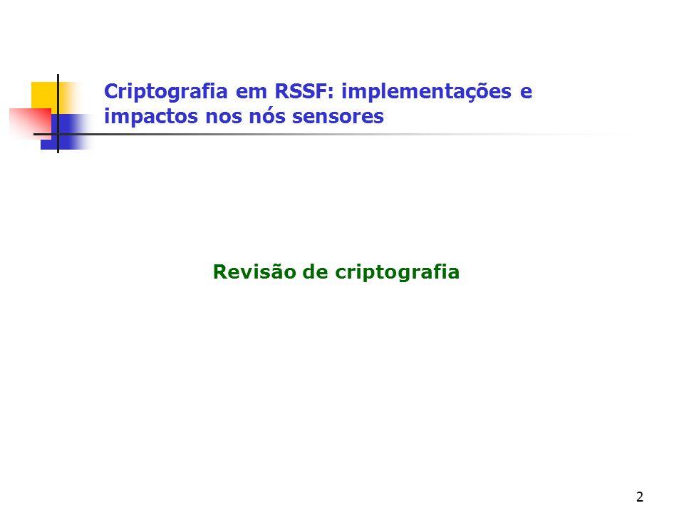 Revisão de criptografia