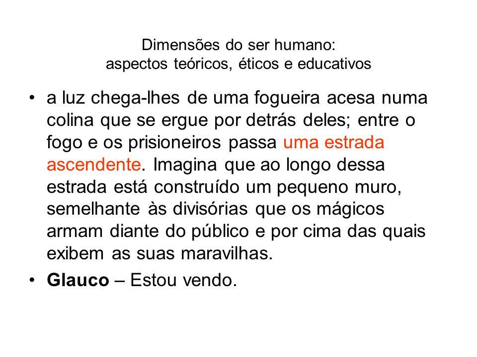 Dimensões do ser humano: aspectos teóricos, éticos e educativos