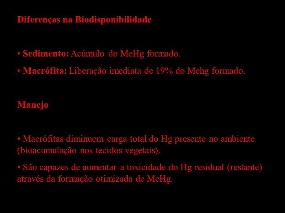 Diferenças na Biodisponibilidade