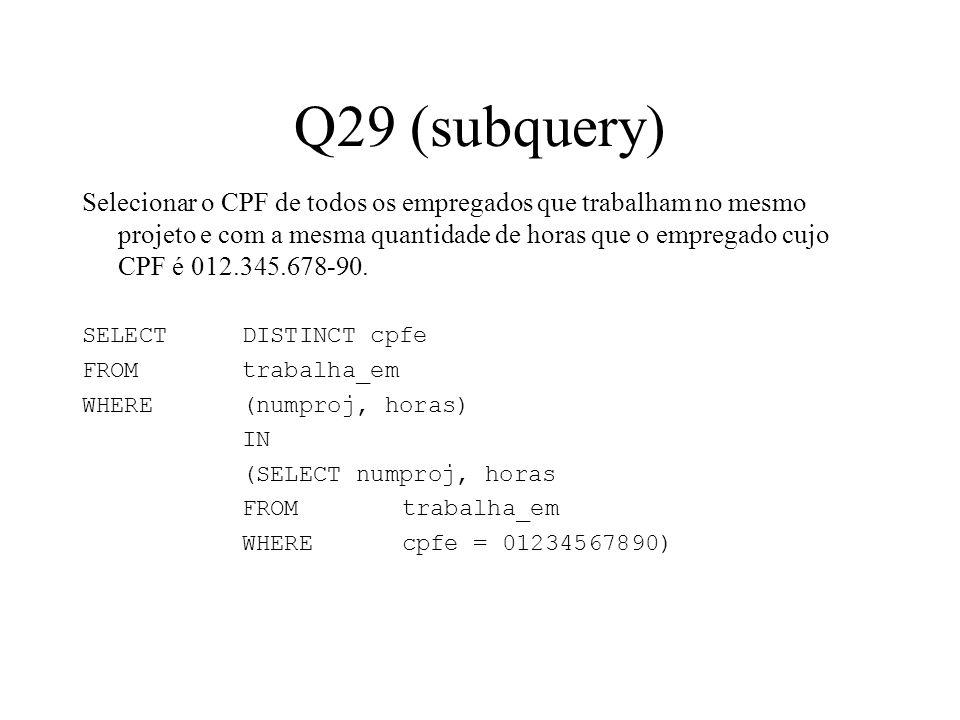Q29 (subquery)