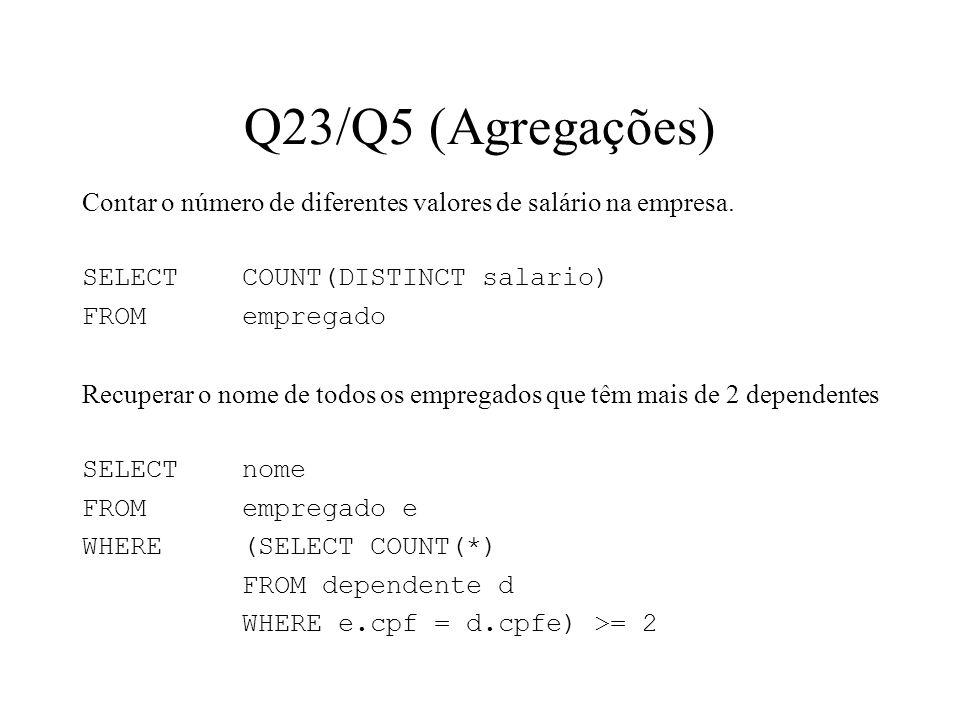 Q23/Q5 (Agregações)
