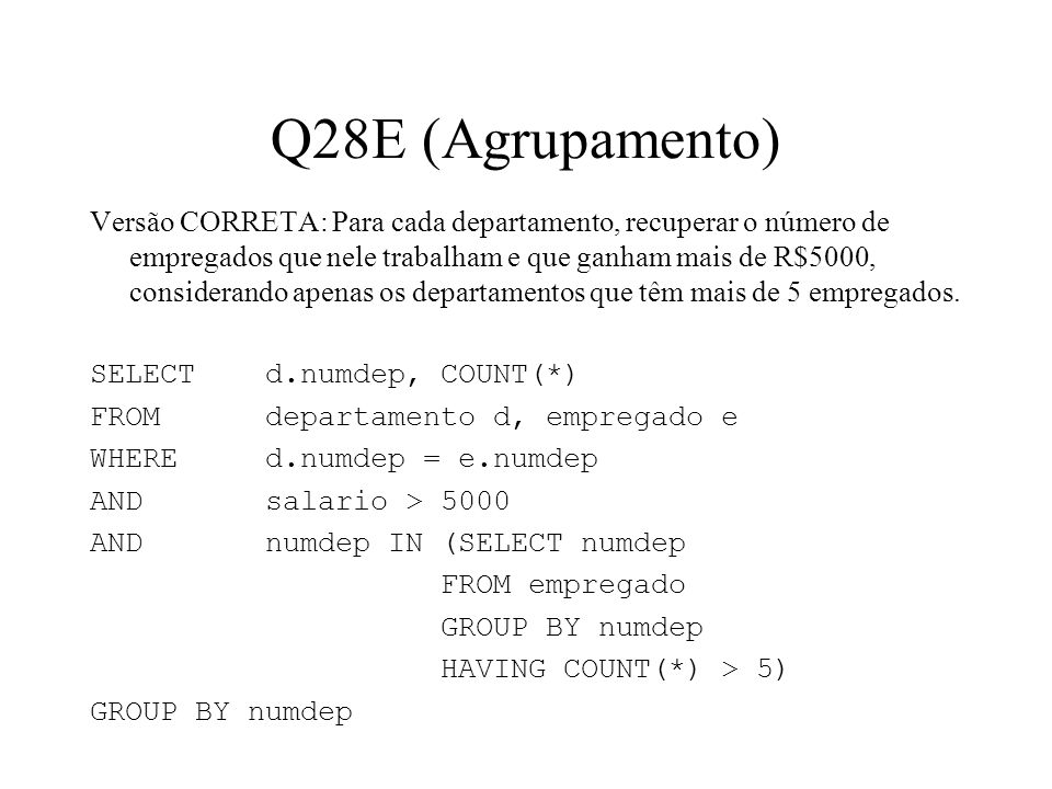 Q28E (Agrupamento)