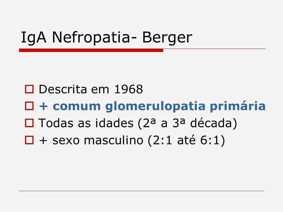 IgA Nefropatia- Berger