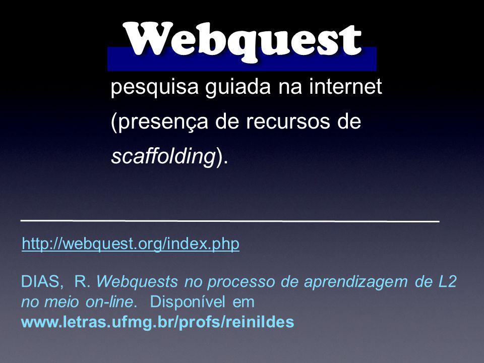 Webquest pesquisa guiada na internet