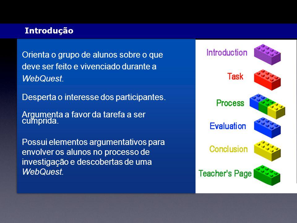 Orienta o grupo de alunos sobre o que