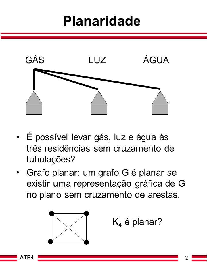 Planaridade GÁS LUZ ÁGUA