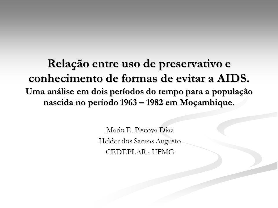Mario E. Piscoya Díaz Helder dos Santos Augusto CEDEPLAR - UFMG